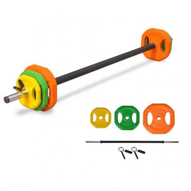 Aerobic Fitness Vægtstangssæt 20 KG